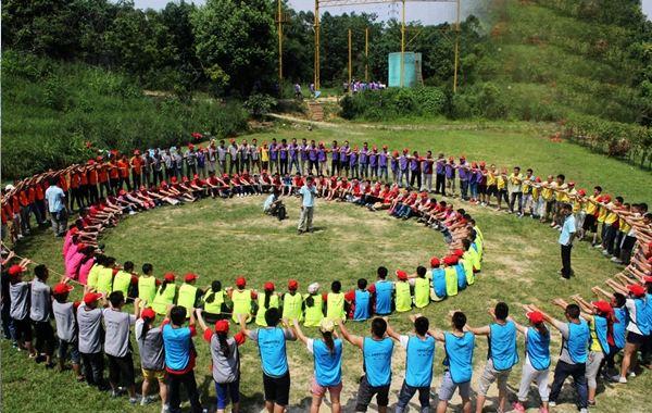 东莞拓展培训基地松湖生态园拓展培训项目动力圈